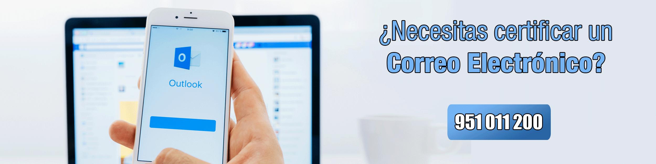 Certificación de correos electrónicos