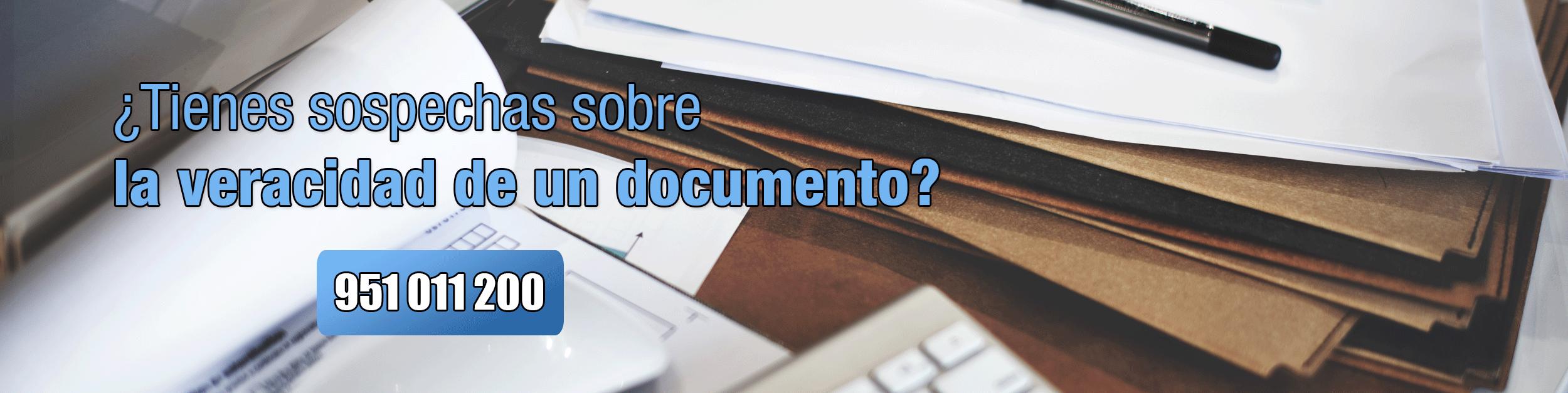 Falsedad documental Perito Informático Málaga